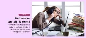 Gestionarea stresului la munca