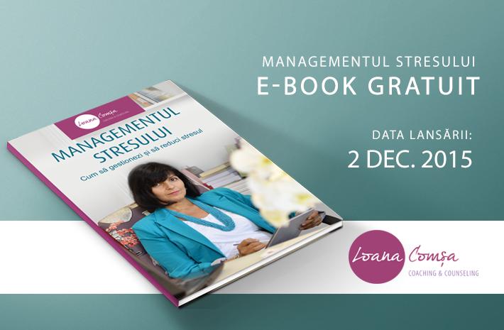 Lansare E-book Managementul Stresului